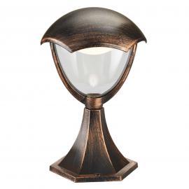 Luminaire LED pour socle Gracht, rouille antique