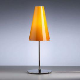 Lampe à poser couleur melon de Walter Schnepel