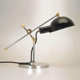 Lampe à poser 1927 avec articulations en laiton