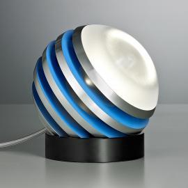 Lampe à poser LED BULO bleu clair
