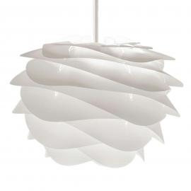 Belle suspension de designer Carmina mini en blanc