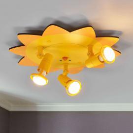 SONNE, un plafonnier 3 lampes très chaleureux