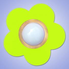 Plafonnier décoratif PETIT FLEUR, vert