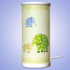 Lampe à poser LED ELEPHANT magique verte
