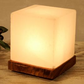 Captivante lampe à poser KUBUS WHITE LINE