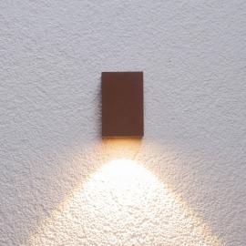 Applique d'extérieur LED Tavi rouille haut 9,5 cm