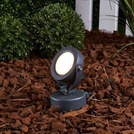 Projecteur d'extérieur LED Gavin graphite 1x5 W