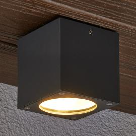 Plafonnier d'extérieur LED carré Meret