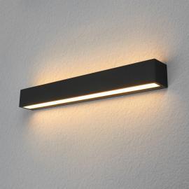 Applique d'extérieur LED carrée Tuana