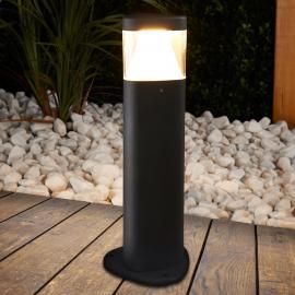 Luminaire pour socle LED Milou gris foncé