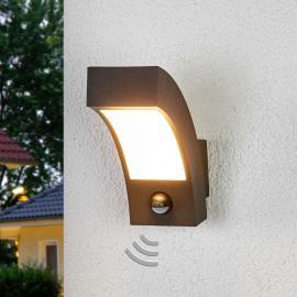 Applique d'extérieur LED Lennik avec capteur