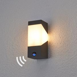LED Applique d'ext Kiran à détecteur de mouvement
