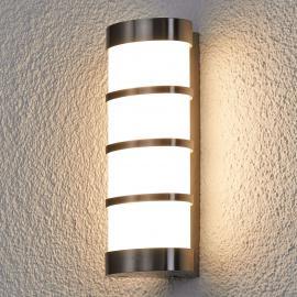 Applique d'extérieur LED Leroy en inox