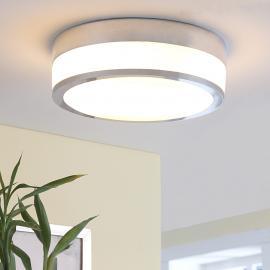 Plafonnier de salle d'eau Flavi LED E27, chromé