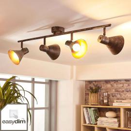 Plafonnier LED à quatre lampes Zera, easydim