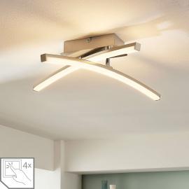 Plafonnier LED dimmable sur 4 niveaux Laurenzia