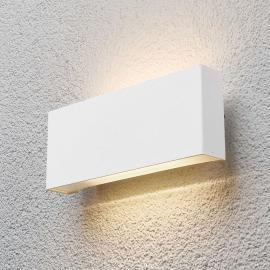 Safira - applique d'extérieur LED en blanc