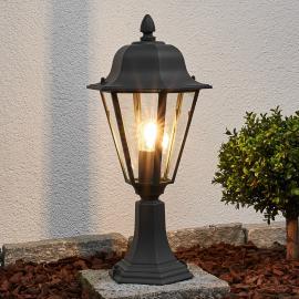 Luminaire pour socle Edana gris graphite