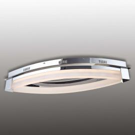 Plafonnier LED Vannes, avec un aspect moderne