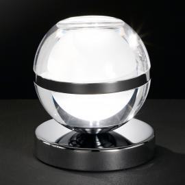 Lampe à poser LED Fulton chromée