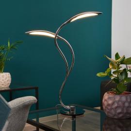 Lampe à poser LED pleine de dynamisme Hampton