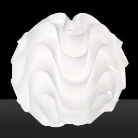 Lampe à poser sphérique Maya au design ondulé