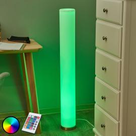 Lampadaire LED à éclairage de couleur Mirella, RGB