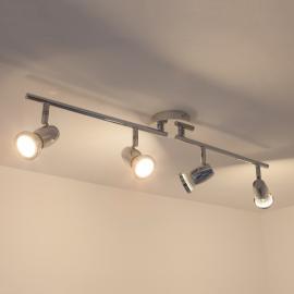 Plafonnier LED GU10 Arminius à 4 lampes