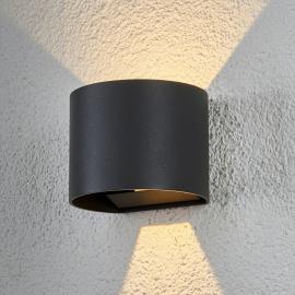 Applique d'extérieur LED demi-ronde Ella
