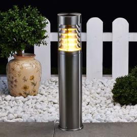 Luminaire pour socle Enja en inox