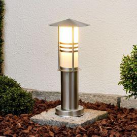 Luminaire pour socle décoratif Erina en inox