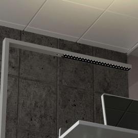 Lampadaire LED de bureau Jolinda, CCT, à capteur