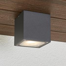 Plafonnier d'extérieur LED en dé Tanea, IP54