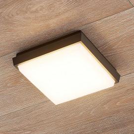 Plafonnier d'extérieur LED carré Amra
