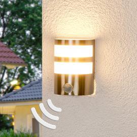 Applique ext. LED avc détecteur de mouvement Lucja