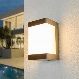 Applique d'extérieur LED en inox Severina