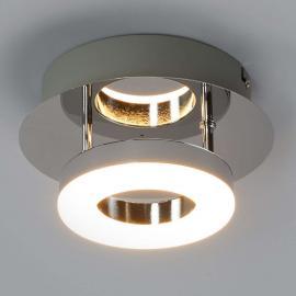Petit plafonnier chromé Daron LED