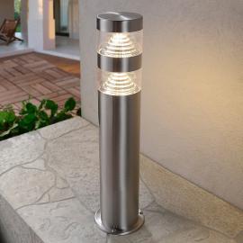 Luminaire pour socle LED Lanea en inox 40 cm