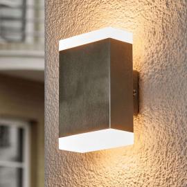Applique LED rectangulaire Aya pour l'extérieur