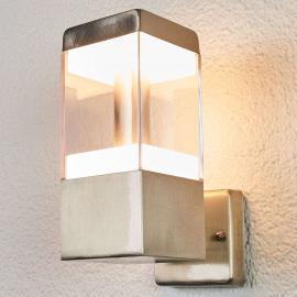 Applique d'extérieur LED Baily en inox