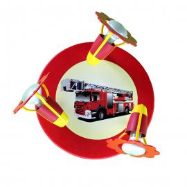 Plafonnier avec camion de pompier