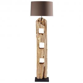 Lampadaire en bois H 170 cm ALPAGES