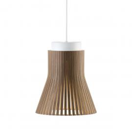 Lampe à suspension Petite 4600 walnut veneer