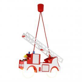 Suspension camion de pompiers