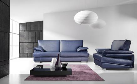 Luna - Leather 2 seater sofa