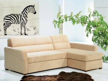 LIVIA - Traditional corner sofa bed