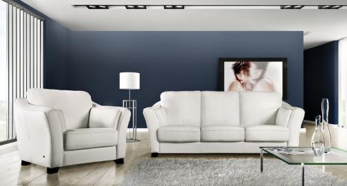 Viena - Cheap leather sofa