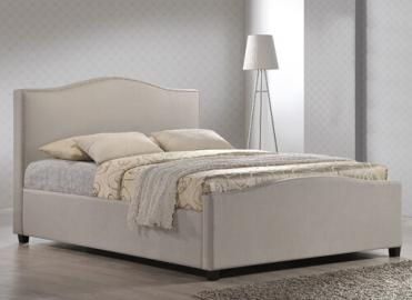 """Time Living Sand Brunswick Ottoman Bed Frame - Double (4'6"""" x 6'3"""")"""