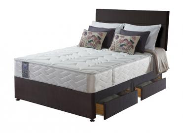 Sealy Posturepedic Jubilee Latex Divan Set - 4 Drawers