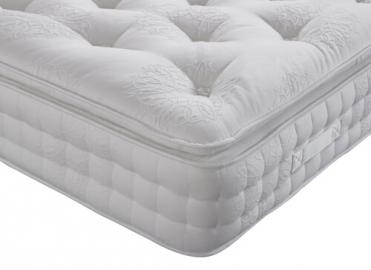 "Alpinia 3000 Pocket Wool Cotton Luxury Mattress - Single (3' x 6'3"")"